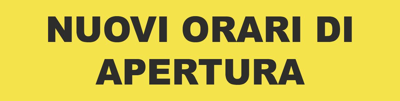 ORARI 2020/2021